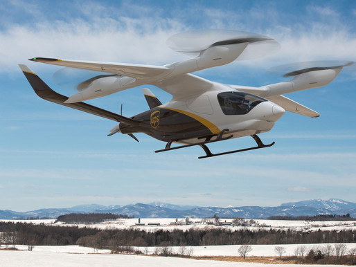 UPS Plans Purchase of Beta Technologies Electric Vertical Takeoff and Landing Aircraft