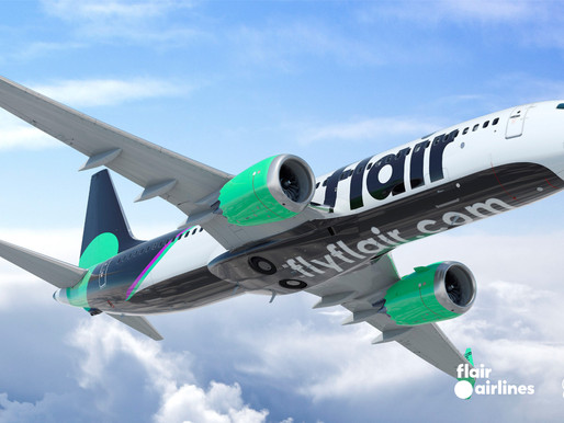 Flair Airlines to Add 13 New Boeing 737-8 MAX Aircraft