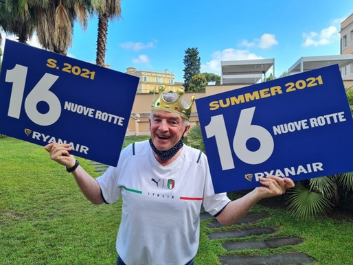 Ryanair Launches Rome Summer 2021 COVID Recovery Schedule