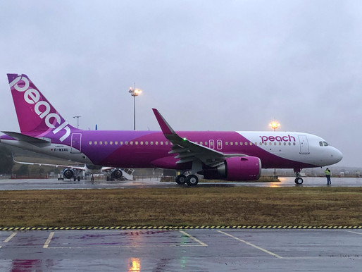 Peach Aviation Receives First A320neo Powered by CFM LEAP-1A Engines