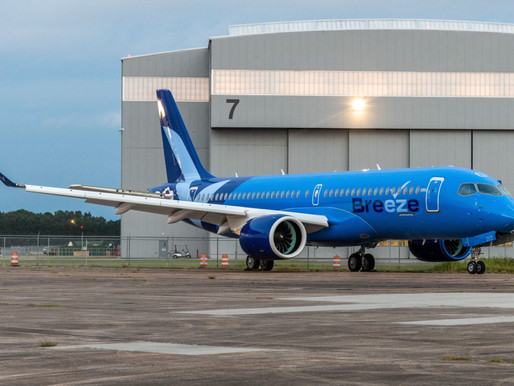 Breeze Airways Confirms Order for 20 Additional Airbus A220-300s