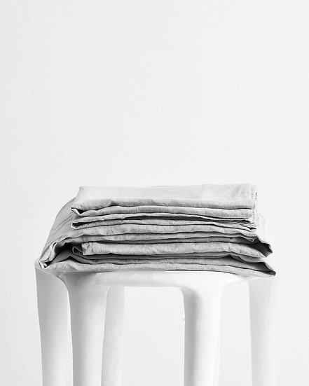 Fog 100% Flax Linen Sheet Set