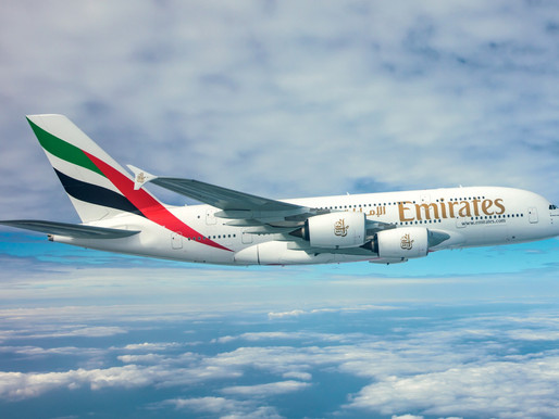 Emirates Adds Flagship Airbus A380 Service to London-Heathrow, Manchester and Moscow