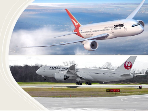 Qantas and Japan Airlines Form New Joint Business to Accelerate Tourism Recovery