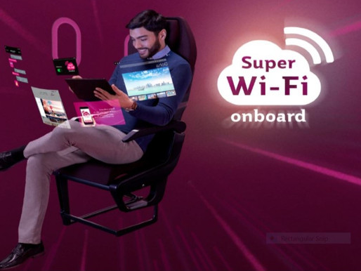 Qatar Airways Celebrates Onboard Super Wi-Fi Equipped Fleet With 100 Days of Free Internet