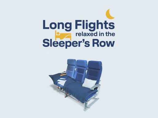 Lufthansa Introduces 'Sleeper's Row' on Long Haul Flights to São Paulo, Los Angeles and Singapore