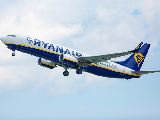 Ryanair Launches New Service From Manchester to Lviv and Between Edinburgh and Marrakesh