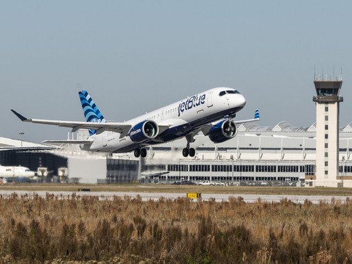 JetBlue Formally Takes Delivery of their First of 70 Airbus A220-300s on Order