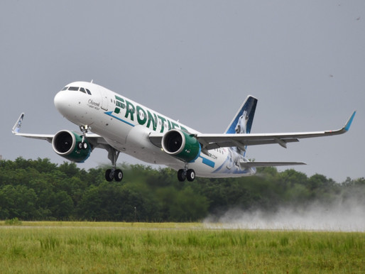 Frontier Airlines Launches New Service From Philadelphia to Portland and Providence