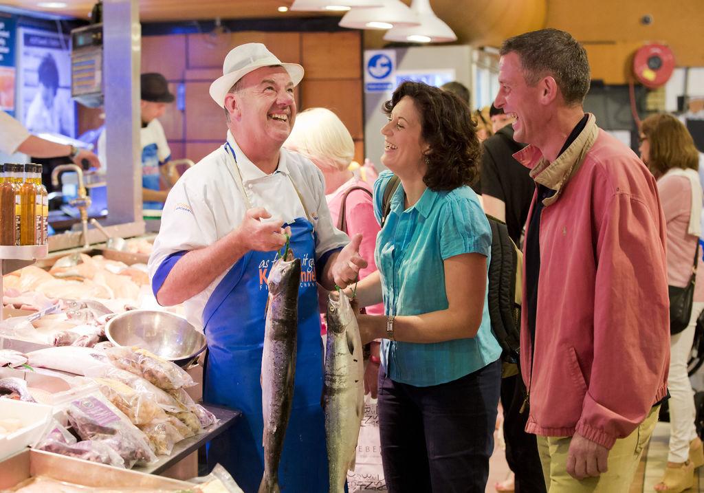 The English Market, Cork - Courtesy Tourism Ireland