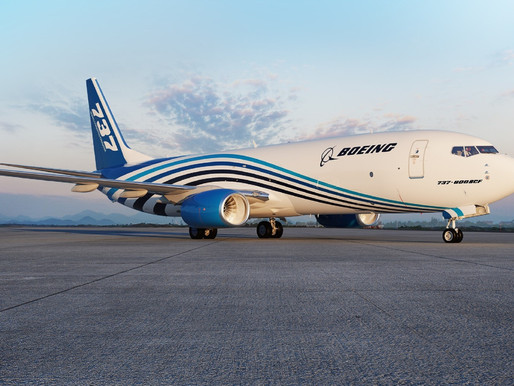 BBAM Orders an Additional 12 737-800 Boeing Converted Freighters