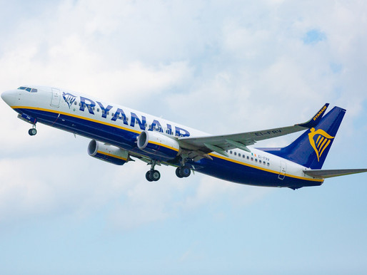 Ryanair Launches New Routes From Derry to Manchester and Between Leeds-Bradford and Poznan