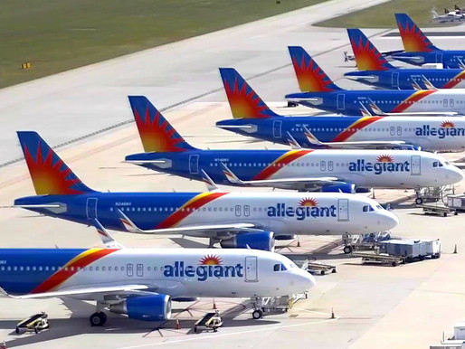 Allegiant Travel Reports Third Quarter Net Loss of $29.1 Million on 54 Percent Revenue Decline