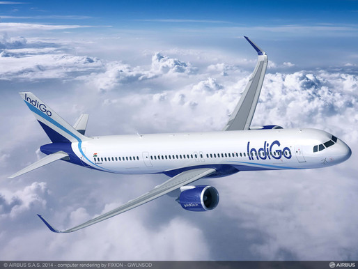 IndiGo Announces the Appointment of Jiten Chopra as Company's New Chief Financial Officer