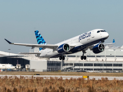 Airbus Signs First Flight Hour Services Contract in North America With JetBlue for A220 Fleet