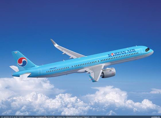 Korean Air Chooses Pratt & Whitney GTF Engines to Power up to 50 New Airbus A321neos