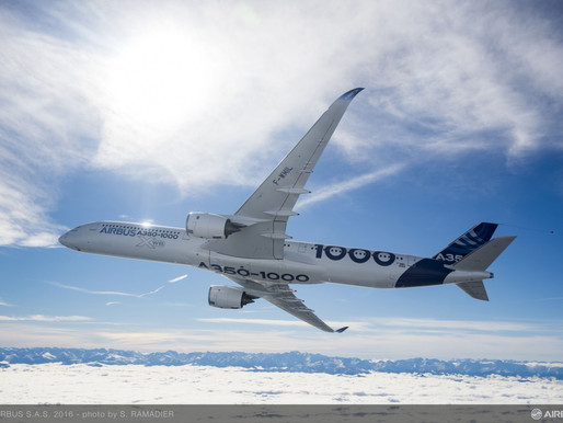 Airbus to Showcase the A350-1000 in Russia for the First Time During MAKS 2021 in Zhukovsky