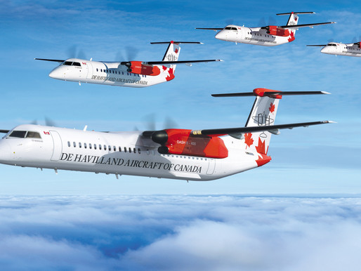 De Havilland Canada Will Pause Dash 8-400 Production at Downsview Site, 500 Employees Impacted