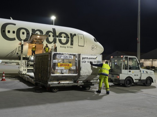 Condor Begins Contract Service for DHL Express With Four Boeing 767s
