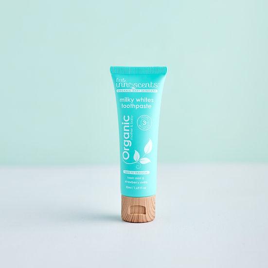 Organic Milky White toothpaste 50ml
