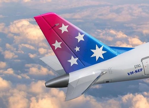 Pionair Receives First Embraer E190 Named 'Cinderella' at Sydney's Bankstown Airport