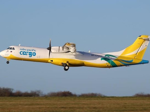 Cebu Pacific Takes Delivery of Second ATR Converted Freighter
