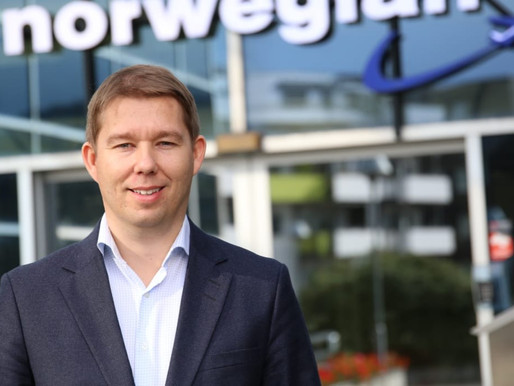 Norwegian Appoints Magnus Thome Maursund as Executive VP for Networking, Pricing and Planning