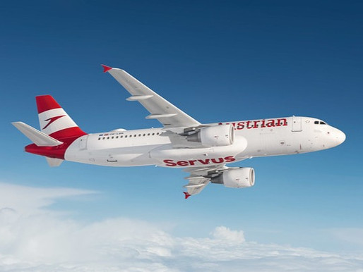 Austrian Airlines to Offer up to Three Daily Flights Between Vienna and Pristina From July 20, 2021