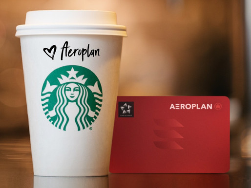 Air Canada's Aeroplan Loyalty Program Teams With Starbucks Canada for Convenient Everyday Earning