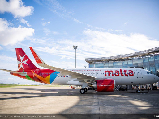Air Malta Launches Second 'Lifeline Schedule' as COVID-19 Situation Worsens in Europe