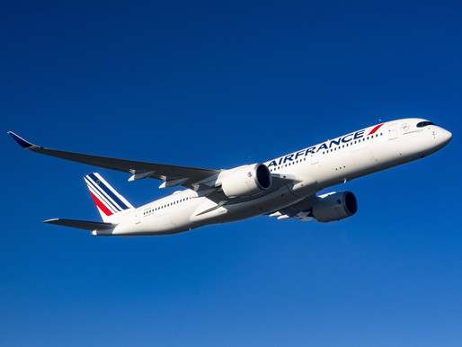 Air France Announces Service to Monrovia; Receives third Airbus A350 'Saint-Denis de La Réunion'