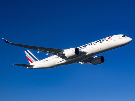Air France Announces Service to Monrovia; Receives third Airbus A350 'Saint-Denis de La Réunion'