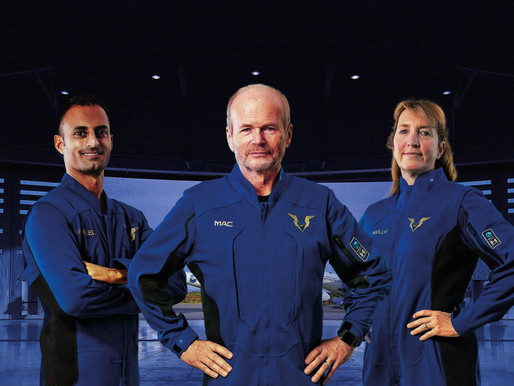 Virgin Galactic and Under Armour Unveil Spacesuits for the World's First Commercial Space Pilots