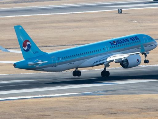 Korean Air Airbus A220 Fleet Powered by Pratt &Whitney GTF Engines Lead South Korean Recovery