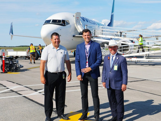 WestJet Celebrates the Launch of Inaugural Service Between Calgary and Charlottetown