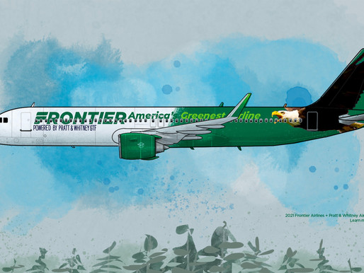 Frontier Airlines Selects Ultra-Efficient Pratt & Whitney GTF Engines for 134 Airbus A320neos