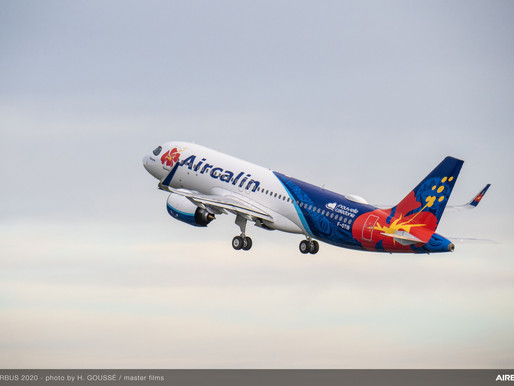 Aircalin Takes Delivery of Their First Airbus A320neo