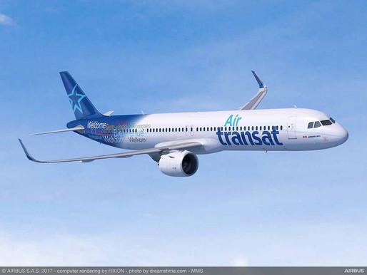 Air Transat Reports Fourth Quarter Adjusted Net Loss of $156.4 million on 96% Revenue Decline