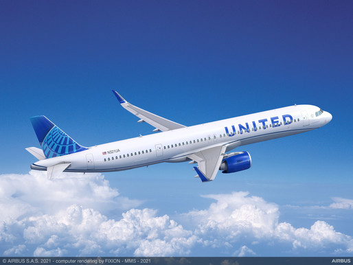 United Airlines Places Largest Aircraft Order in Company History for 270 Airbus and Boeing Jets