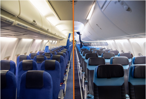 KLM to Renew Cabins of 14 Boeing 737-800s by March 2022