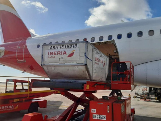 Iberia and IAG Cargo Bring Moderna Vaccines to the Canary Islands and Melilla