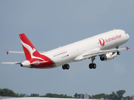 First Airbus A321 Passenger to Freight Conversion Enters Service with Qantas for Australian Post