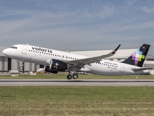 Volaris Announces the Incremental Addition of Eight Airbus A320neos in 2021