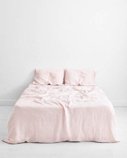Rosewater 100% Flax Linen Bedding Set