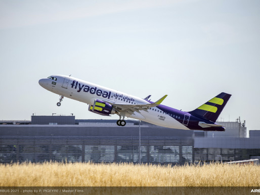 flyadeal Receives First Airbus A320neo out of 30 to be Delivered in the Next Three Years