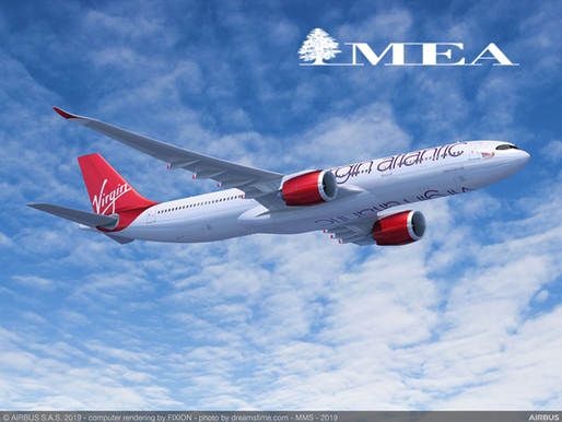 Virgin Atlantic Announces New Codeshare Agreement With Middle East Airlines – Air Liban