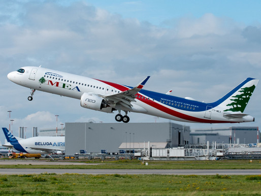 Airbus Delivers MSN10,000 A320 Family Aircraft to MEA; EASA Approves Increased MTOW A330-900