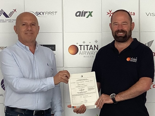 Titan Airways Launches Titan Airways Malta, a New European Subsidiary