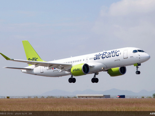 AirBaltic Increases Frequency From Riga to Tbilisi for Summer 2020 Season