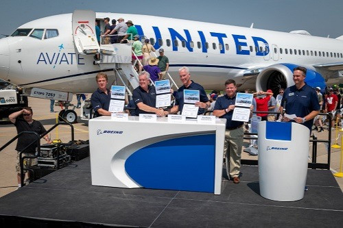 United Airlines' Aviate Academy Selects Boeing's Comprehensive Suite of Solutions for Pilot Training